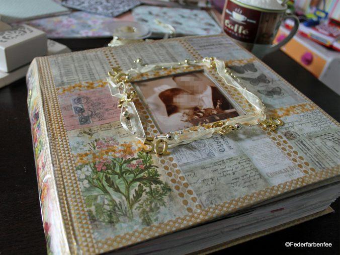 Scrapbook für Goldene Hochzeit